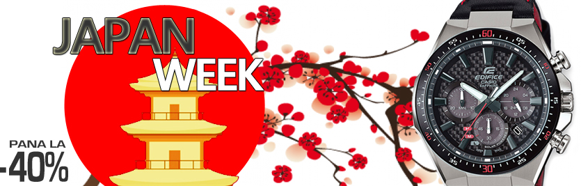 JAPAN WEEK - Alege un ceas japonez