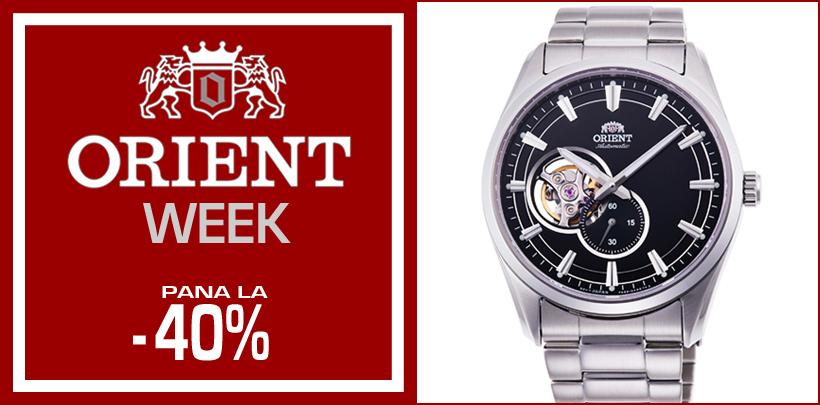 ORIENT WEEK - Alege un ceas japonez de traditie