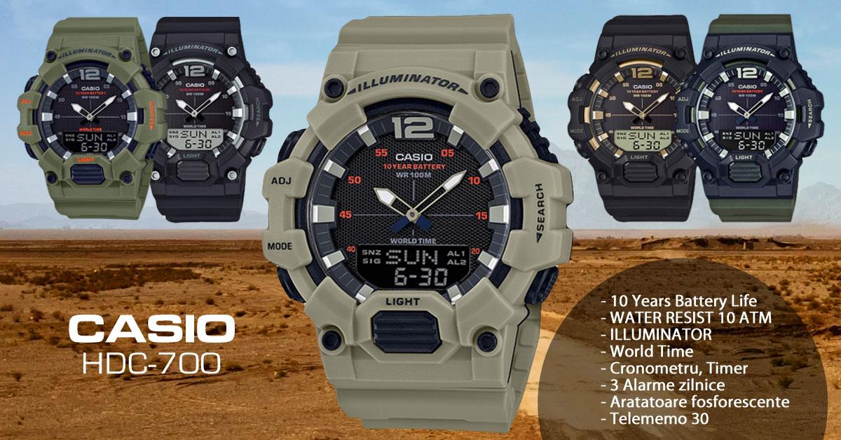 Ceasuri CASIO HDC-700