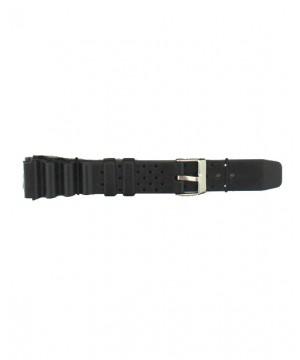 Curea ceas silicon Jastrap Heay Duty Negru (30370-JA-BLACK) 18mm (30370-JA-BLACK) oferit de magazinul Japora