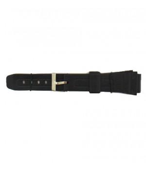 Curea ceas silicon Jastrap Negru (30371-JA-BLACK) 18mm (30371-JA-BLACK) oferit de magazinul Japora