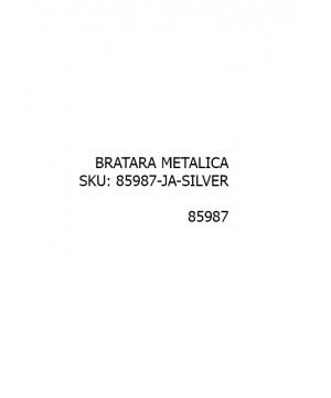 Curea ceas metalica Jastrap Argintiu (85987-JA-SILVER) 20mm (85987-JA-SILVER) oferit de magazinul Japora