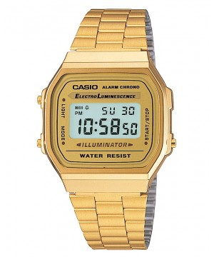 Ceas unisex Casio STANDARD A168WG-9 Retro Gold