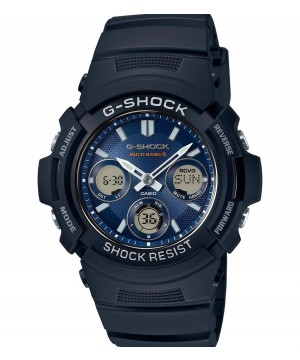 Ceas barbatesc Casio G-Shock AWG-M100SB-2AER MultiBand 6 Tough Solar
