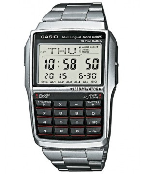 Ceas unisex Casio Data Bank DBC-32D-1A 10-Year Battery Life