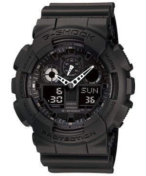 Ceas barbatesc Casio G-Shock GA-100-1A1 Bold Face. Tough Body