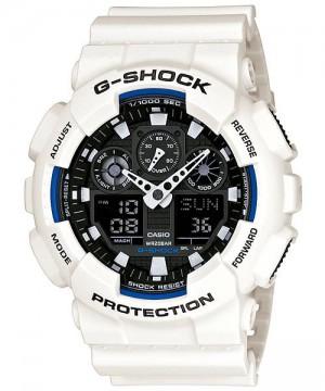 Ceas barbatesc Casio G-Shock GA-100B-7A Bold Face (GA-100B-7AER) oferit de magazinul Japora