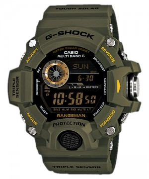 Ceas barbatesc Casio G-Shock GW-9400-3ER RANGEMAN MultiBand 6 Triple Sensor Tough Solar
