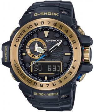 Ceas barbatesc Casio G-Shock GWN-1000GB-1AER Master of G Black&Gold