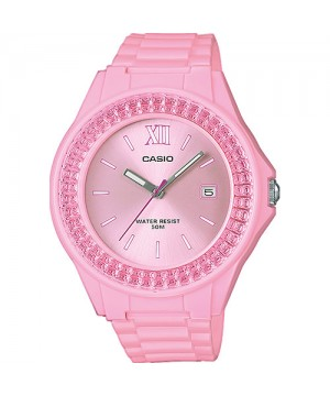 Ceas dama Casio Standard LX-500H-4E2VEF PINK COLLECTION