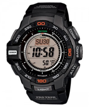 Ceas barbatesc Casio Pro Trek PRG-270-1ER Solar Triple Sensor Version 3