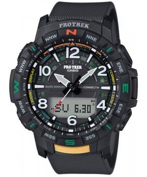 Ceas barbatesc Casio Pro Trek PRT-B50-1ER Bluetooth Quad Sensor (PRT-B50-1ER) oferit de magazinul Japora