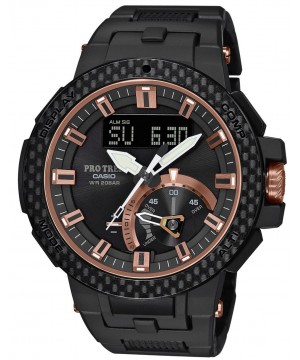 Ceas barbatesc Casio Pro Trek PRW-7000X-1ER MULTI FIELD LINE CARBON EDITION LIMITED MODEL Triple Sensor Sapphire (PRW-7000X-1ER) oferit de magazinul Japora