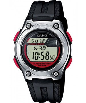 Ceas unisex Casio STANDARD W-211-1B Digital: 10-Year Battery