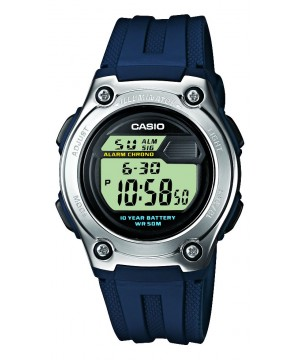 Ceas unisex Casio STANDARD W-211-2A Digital: 10-Year Battery