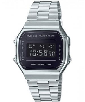 Ceas unisex Casio Standard A168WEM-1EF Retro (A168WEM-1EF) oferit de magazinul Japora