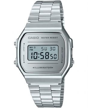 Ceas unisex Casio Standard A168WEM-7EF Retro (A168WEM-7EF) oferit de magazinul Japora