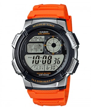 Ceas barbatesc Casio Standard AE-1000W-4BVEF Sporty Digital 10-Year Battery Life