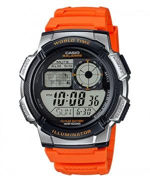 Ceas barbatesc Casio Standard AE-1000W-4BVEF Sporty Digital 10-Year Battery Life (AE-1000W-4BVEF) oferit de magazinul Japora