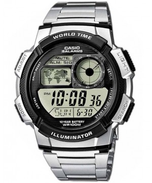 Ceas barbatesc Casio Standard AE-1000WD-1A Sporty Digital 10-Year Battery Life