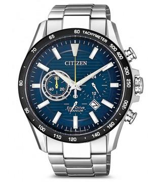 Ceas barbatesc Citizen CA4444-82L Chronograph Eco-Drive Solar (CA4444-82L) oferit de magazinul Japora