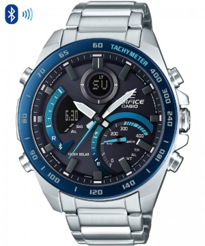 Ceas barbatesc Casio Edifice ECB-900DB-1BER Bluetooth Tough Solar PREMIUM COLLECTION (ECB-900DB-1BER) oferit de magazinul Japora