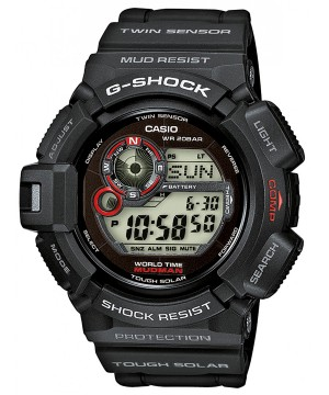 Ceas Casio G-Shock G-9300-1 Mudman Tough Solar