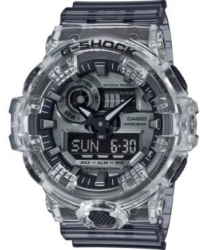 Ceas barbatesc Casio G-Shock GA-700SK-1AER Transparent Black (GA-700SK-1AER) oferit de magazinul Japora
