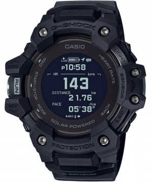 Ceas barbatesc Casio G-shock GBD-H1000-1ER G-SQUAD Solar 5-SENSOR Heart Rate Monitor and GPS for Workouts (GBD-H1000-1ER) oferit de magazinul Japora