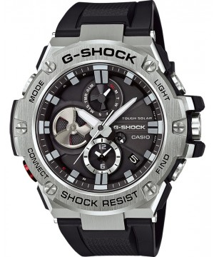 Ceas barbatesc Casio G-Shock GST-B100-1AER Bluetooth Tough Solar G-STEEL