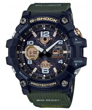 Ceas barbatesc Casio G-Shock GWG-100-1A3ER MUDMASTER Solar MultiBand 6