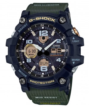 Ceas barbatesc Casio G-Shock GWG-100-1A3ER MUDMASTER Solar MultiBand 6 (GWG-100-1A3ER) oferit de magazinul Japora