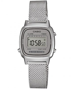 Ceas dama Casio Standard LA670WEM-7EF Digital Retro (LA670WEM-7EF) oferit de magazinul Japora