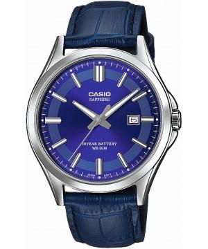 Ceas barbatesc Casio Standard MTS-100L-2AVEF Safir 10-Year Battery Life (MTS-100L-2AVEF) oferit de magazinul Japora