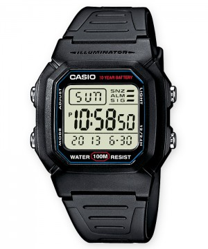 Ceas barbatesc Casio STANDARD W-800H-1A Digital: 10-Year Battery