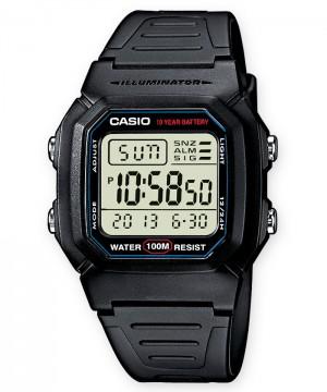 Ceas barbatesc Casio STANDARD W-800H-1A Digital: 10-Year Battery (W-800H-1AVES) oferit de magazinul Japora