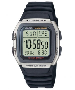 Ceas unisex Casio Standard W-96H-1A Digital: 10-Year Battery