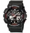 Ceas barbatesc Casio G-Shock GA-100-1A4 Bold Face. Tough Body (GA-100-1A4ER) oferit de magazinul Japora