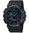 Ceas barbatesc Casio G-Shock GA-100-1A2 Bold Face. Tough Body (GA-100-1A2ER) oferit de magazinul Japora