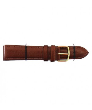 Curea ceas piele naturala Jastrap Padded Maro (15361-JA-BROWN-G) 20mm (15361-JA-BROWN-G) oferit de magazinul Japora