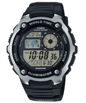 Ceas barbatesc Casio Standard AE-2100W-1AVEF Sporty Digital 10-Year Battery Life