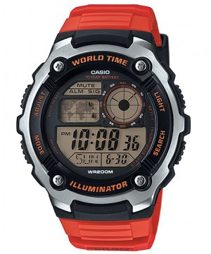 Ceas barbatesc Casio Standard AE-2100W-4AVEF Sporty Digital 10-Year Battery Life