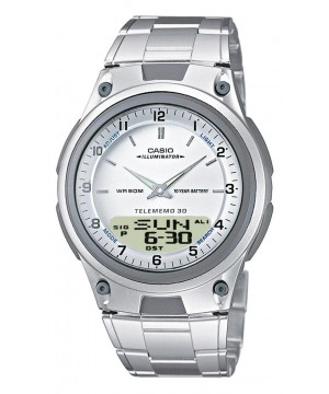 Ceas barbatesc Casio STANDARD AW-80D-7A Digital-Analog: 10-Year Battery Life