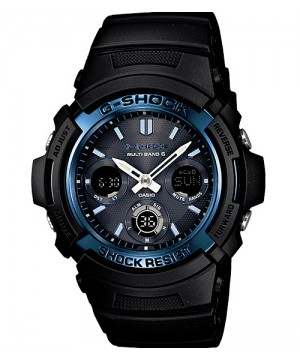 Ceas Casio G-Shock AWG-M100A-1A MultiBand 6 Tough Solar