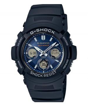 Ceas barbatesc Casio G-Shock AWG-M100SB-2AER MultiBand 6 Tough Solar (AWG-M100SB-2AER) oferit de magazinul Japora