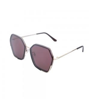 Ochelari de soare mov pentru dama Daniel Klein Trendy DK4299-3