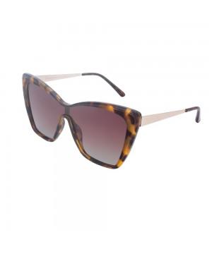 Ochelari de soare maro pentru dama Daniel Klein Trendy DK4302-2
