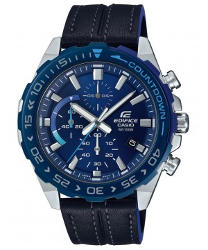Ceas barbatesc Casio Edifice EFR-566BL-2AVUEF Countdown bezel
