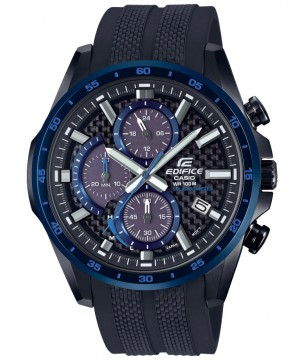 Ceas barbatesc Casio Edifice EQS-900PB-1BVUEF Solar Powered Chronograph (EQS-900PB-1BVUEF) oferit de magazinul Japora