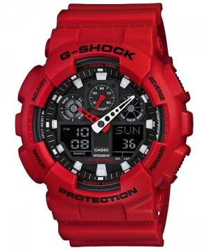 Ceas barbatesc Casio G-Shock GA-100B-4A Bold Face